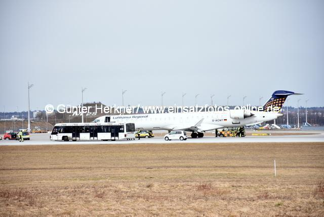 1-Notlandung FJS-Airport